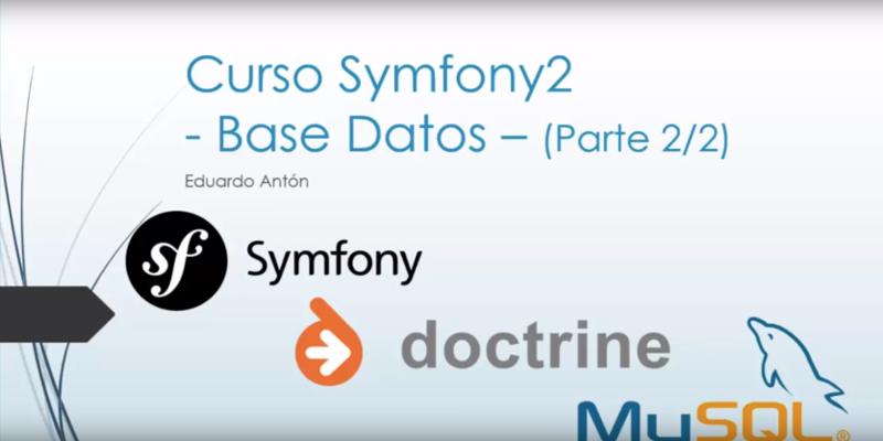 tutorial symfony2 MySql